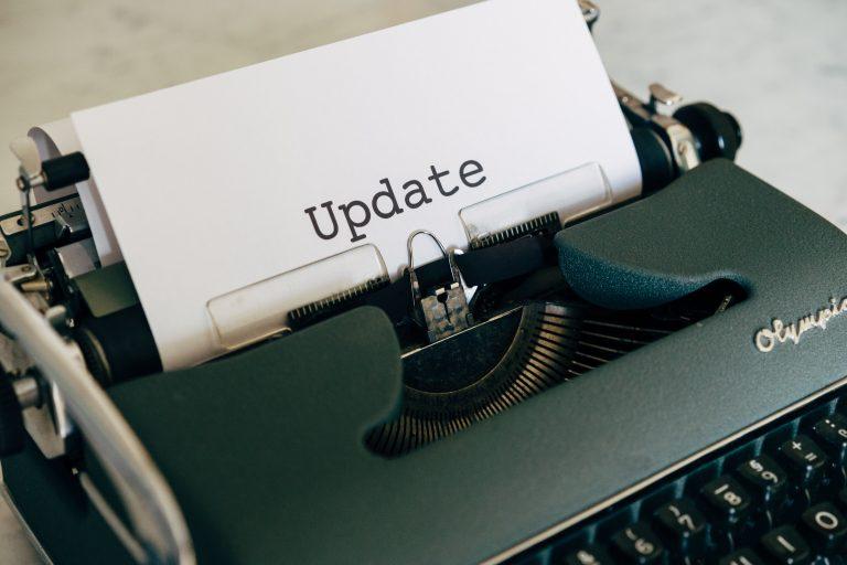 Board Updates – October 2018 to October 2020